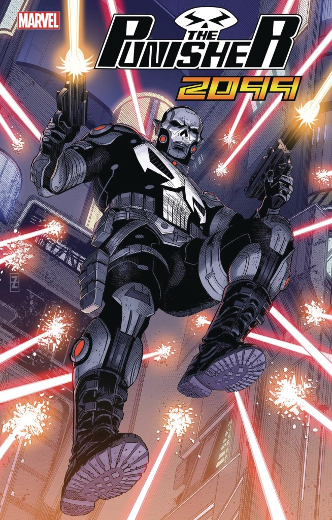 Punisher 2099 #1 - Patch Zircher Cover