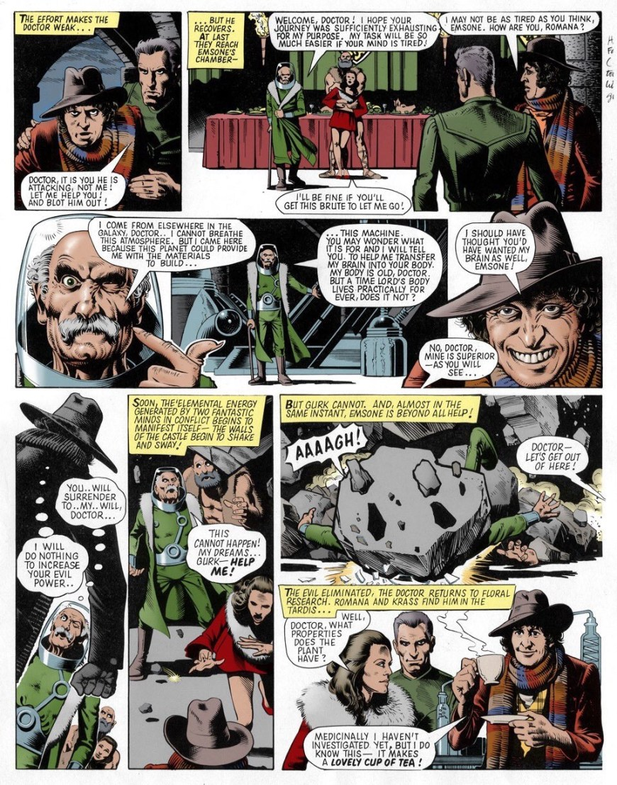 Doctor Who by Brian Bolland