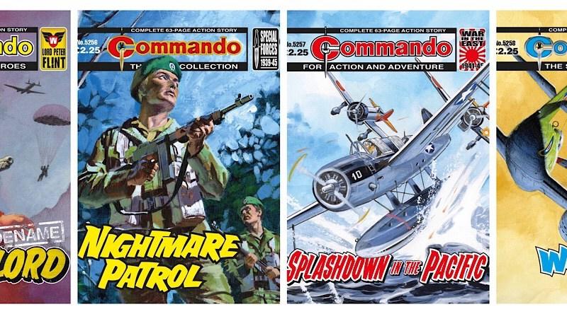 Codename: Warlord returns in this week's Commando Comics!