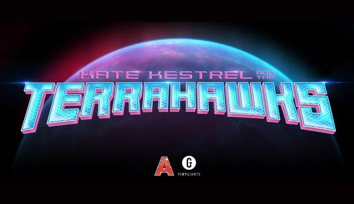 Kate Kestrel and the Terrahawks - Banner