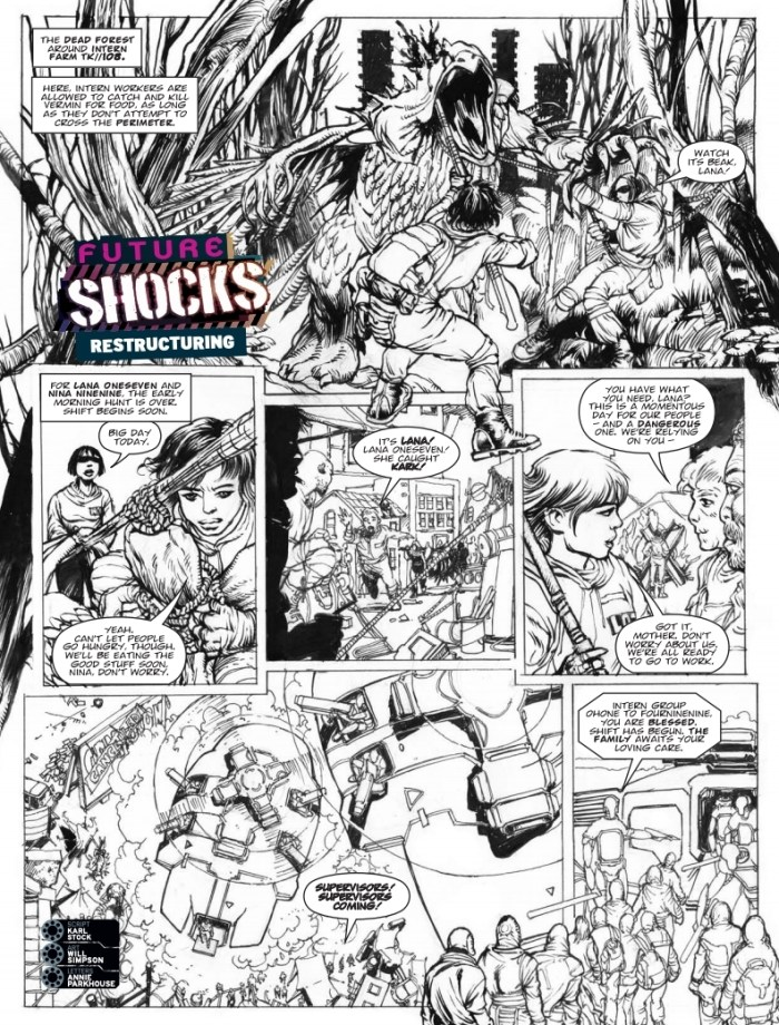 2000AD Prog 2500 - Furure Shocks: Restructuring