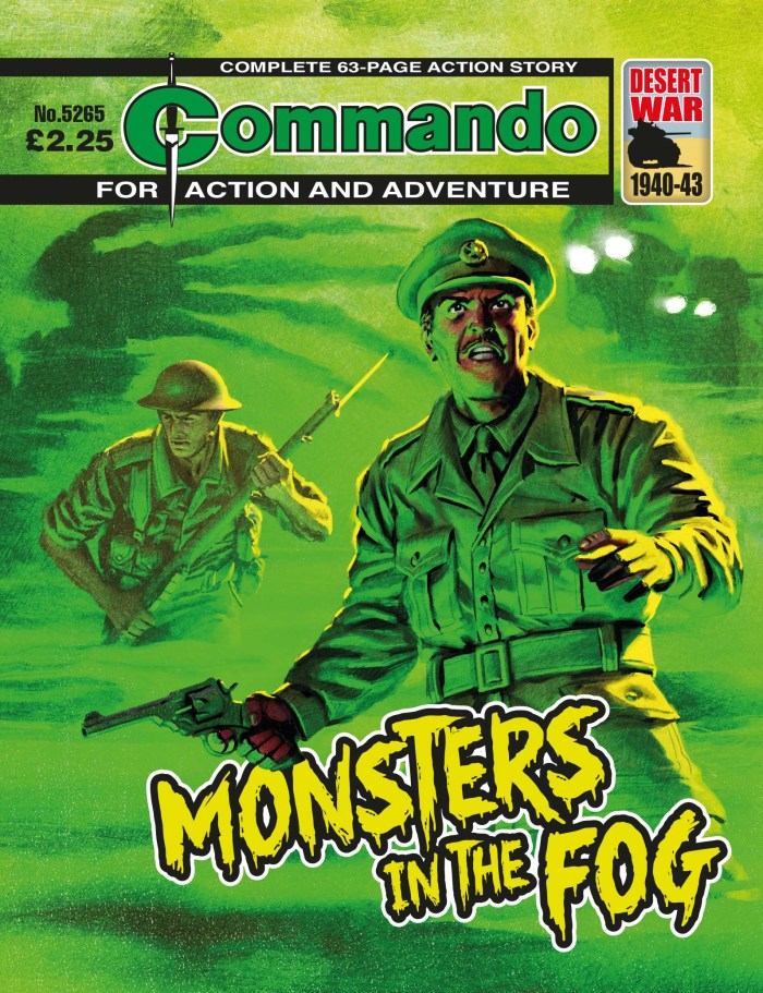 Commando 5265: Action and Adventure - Monsters in the Fog