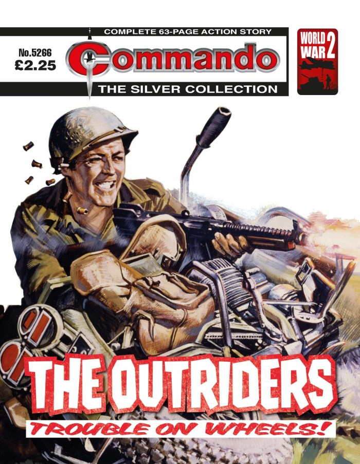 Commando 5266: Silver Collection - The Outriders