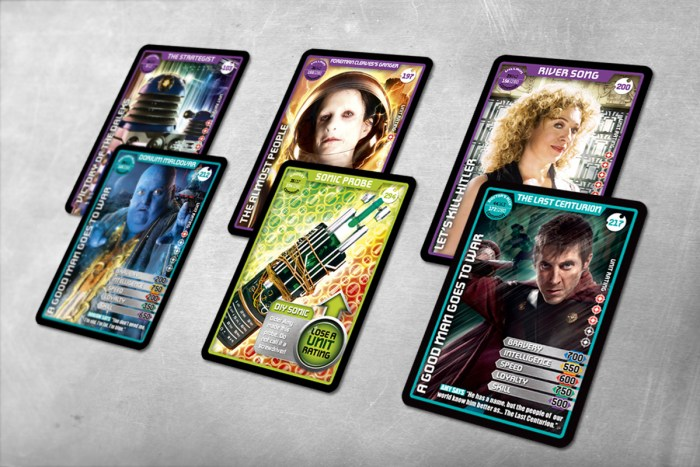 Emma Price designed 52 issues of Doctor Who: Monster Invasion and three sets of trading cards as part of the team at BBC Magazines (now Immediate Media). She also drew over 40 illustrations of monster slamdowns for the magazine, the complete run of which can be seen on her tumblr.​​​​​​​
