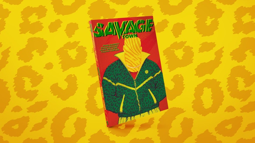 Savage Town- design by by Emma Price