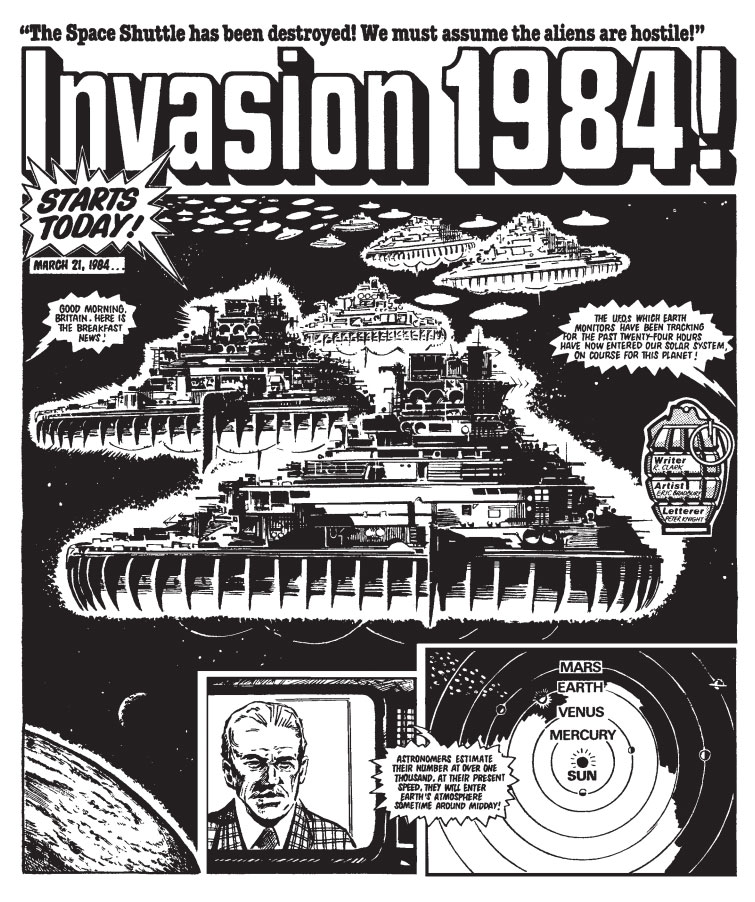 Man's first encounter with aliens is not a peaceful one in Invasion 1984