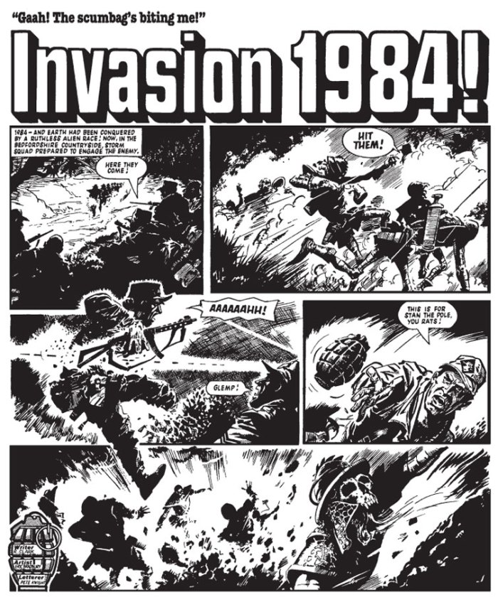 Storm Squad in action in Invasion 1984