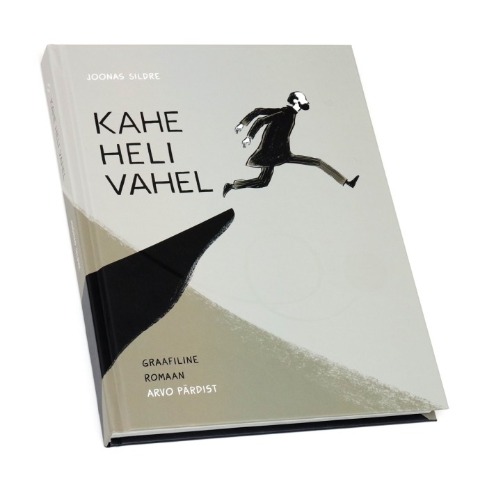"""The cover of """"Kahe heli vahel"""" (Between Two Sounds) by Joonas Sildre"""