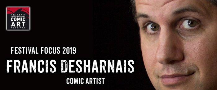 Lakes Festival Focus 2019: Comic Artist Francis Desharnais