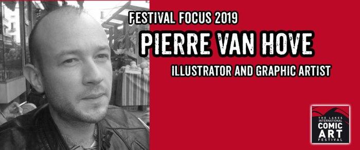 Lakes Festival Focus 2019: Illustrator and Graphic Artist Pierre van Hove