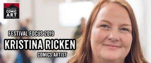 Lakes Festival Focus 2019: Comic Artist Kristina Ricken