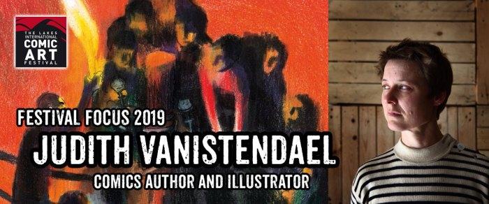 Lakes Festival Focus 2019: Comics Author and Illustrator Judith Vanistendael