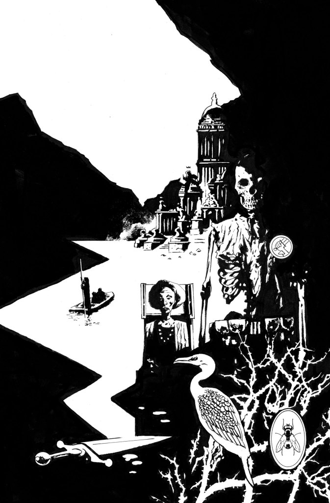 BPRD Trade Cover Art by Laurence Campbell