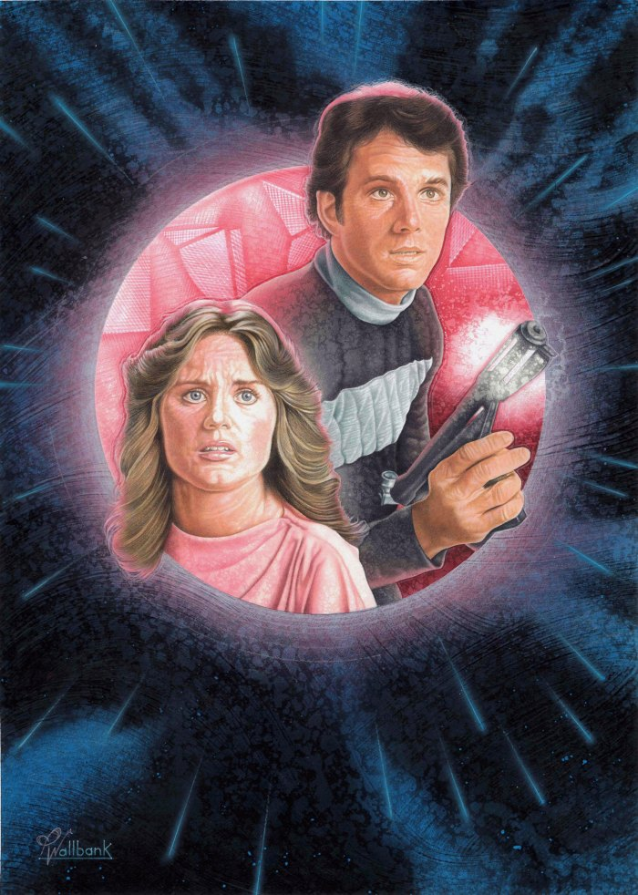 Art based on the Logan's Run TV show by Pete Wallbank