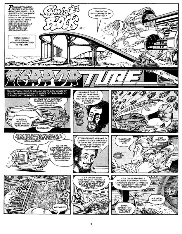 Nemesis Le Sorcier : Les Hérésies Complètes Vol.1 - Terror Tube 1