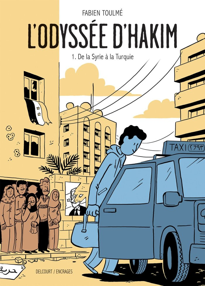 L'Odyssée d'Hakim Volume One - from Syria to Turkey - the true story of Hakim, a young Syrian who had to flee his country to become a refugee. It's a powerful account, touching, on what it is to be human in a world that sometimes forgets to be.