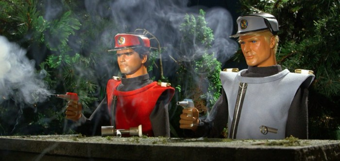 A scene from the not-for-profit Supermarionation Recreations Captain Scarlet Anniversary Film