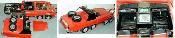 Gerry Anderson's The Investigator pilot sports car prop. Image: Vectis