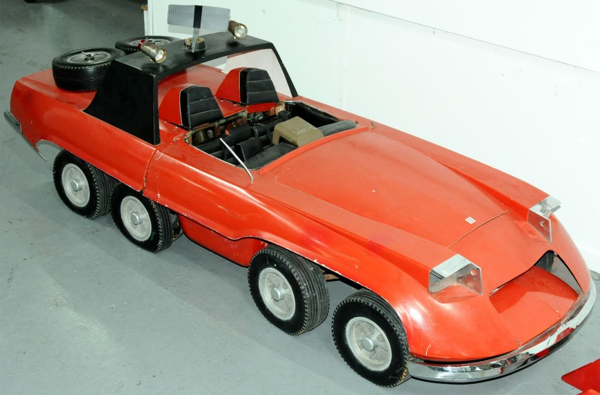 The sports car prop from Gerry Anderson's The Investigator. Image: Vectis