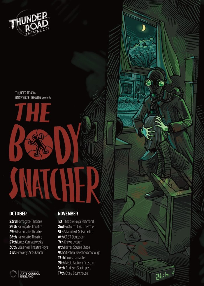 Thunder Road Touring Theatre - The Body Snatcher Poster