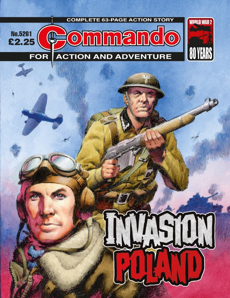 Commando 5261 - Action and Adventure: Invasion: Poland
