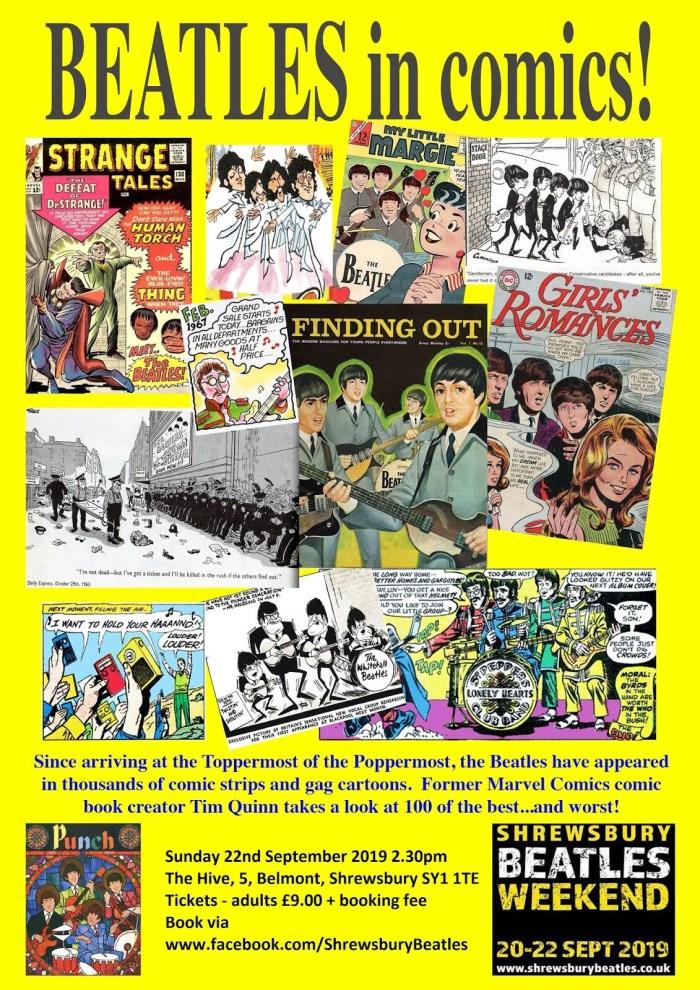 Shrewsbury Beatles Weekend - Beatles in Comics