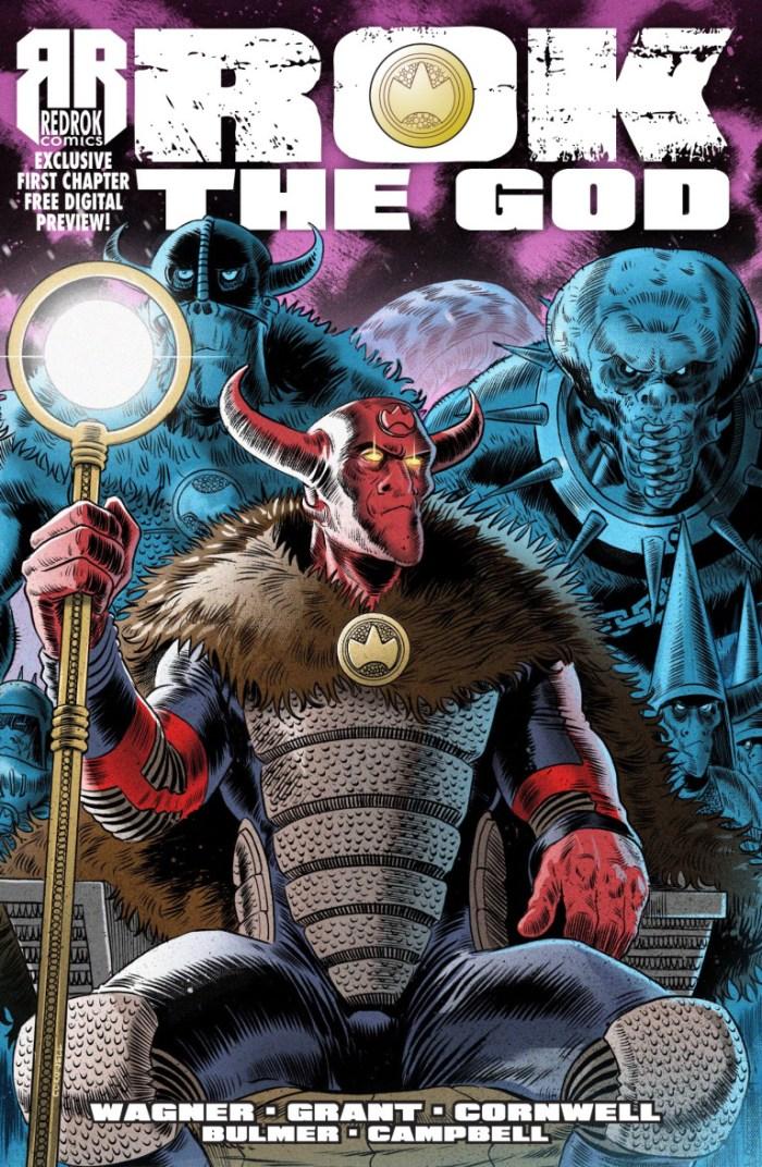 RedRok Comics - Rok the God - Cover