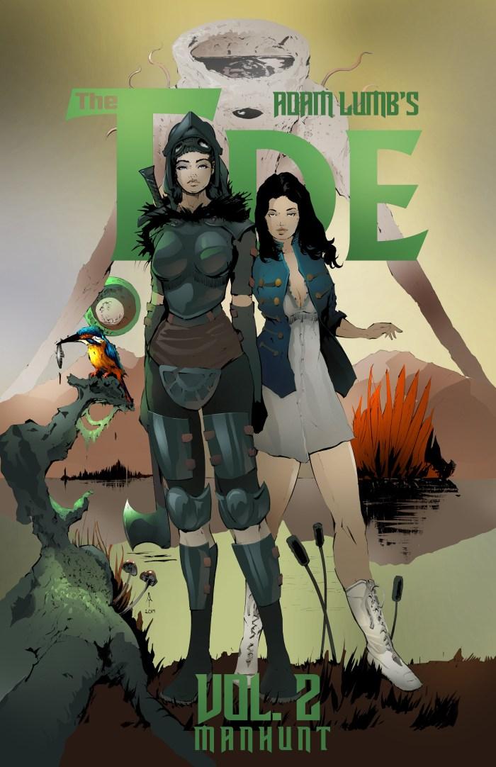 The Tide: Manhunt by Adam Lumb - Maiden Edition