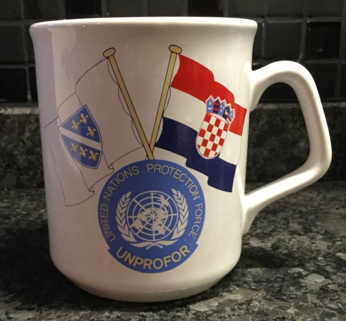 United Nations Protection Force Mug