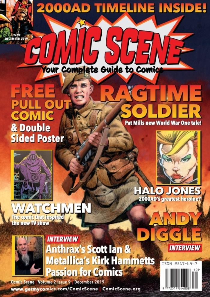 ComicScene Magazine Volume #9