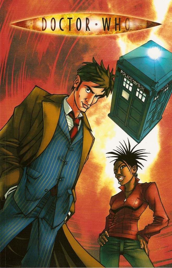 """One of Martha Jones first appearances in comics was in """"Agent Provocateur"""", written by Gary Russell, with art by Nick Roche, published by IDW"""