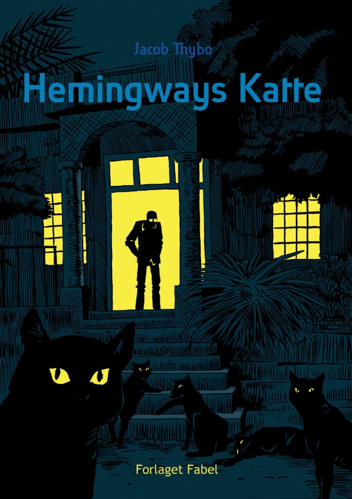 Hemmingway's Cats, Jacob Thybo's latest graphic novel, released in October 2019