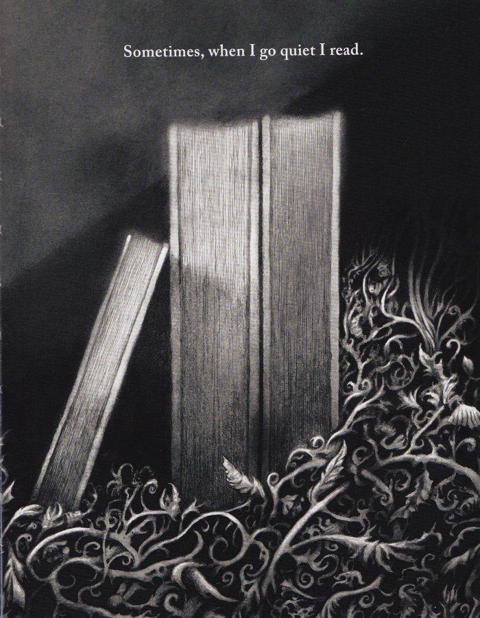 """I Go Quiet"" by David Ouimet - Sample Art"