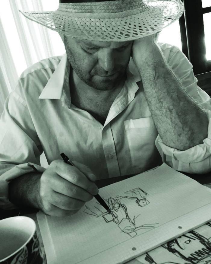 Danish comic artist Jacob Thybo. Image courtesy Art Bubble