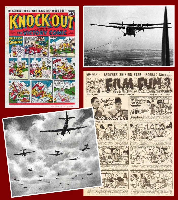 Knockout, Film Fun, gliders