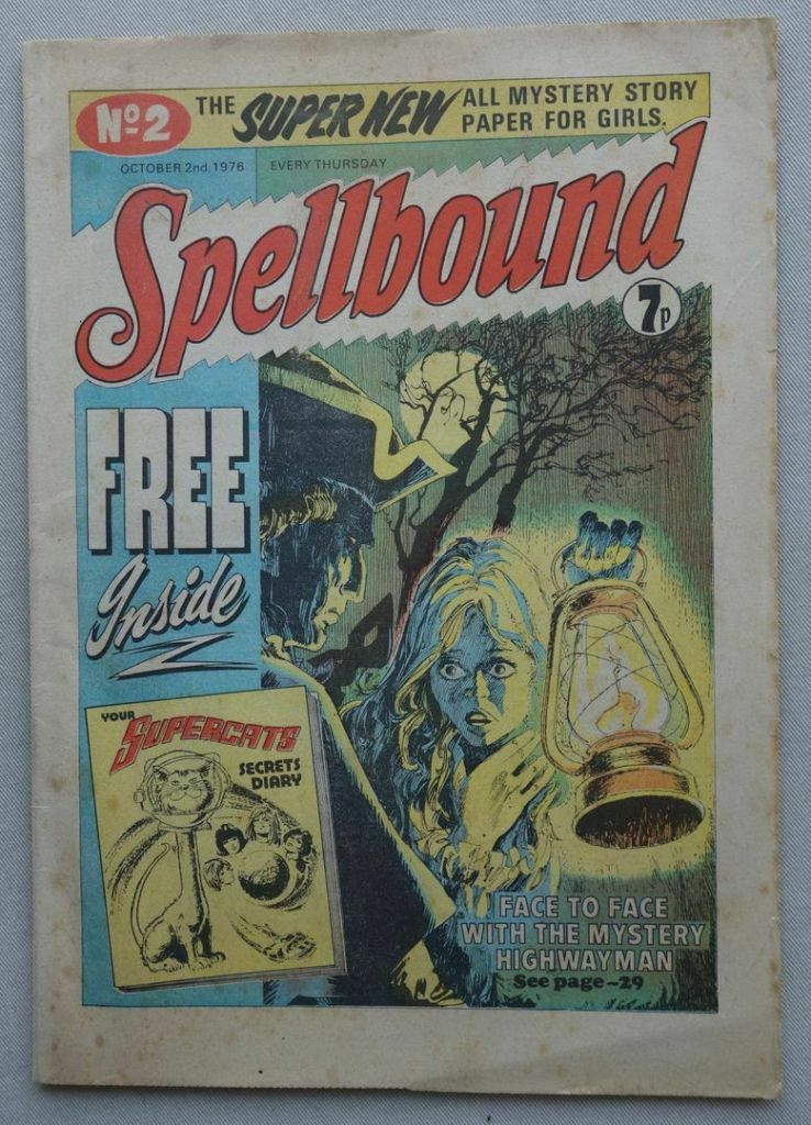 Spellbound #2, cover dated 2nd October 1976