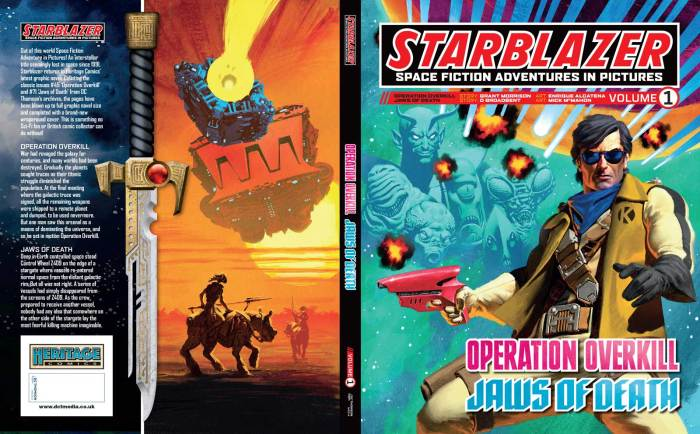 Heritage Comics presents Starblazer Volume One