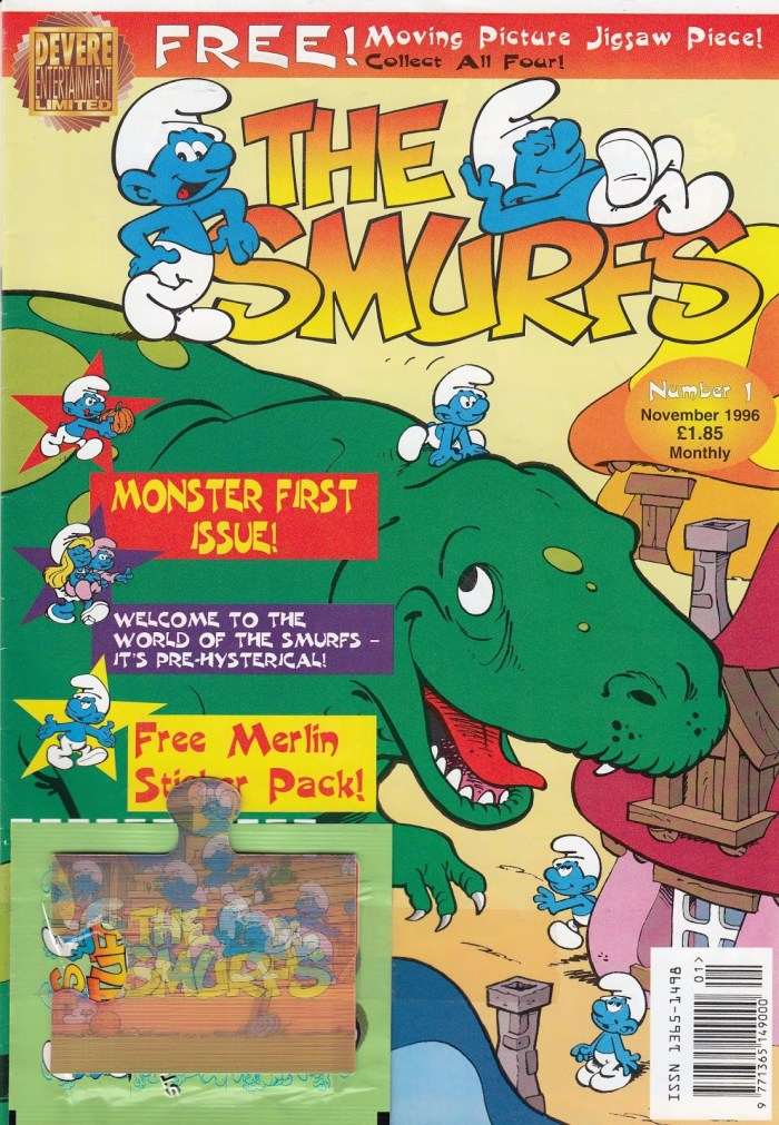 The Smurfs UK Volume 1 Issue 1 Cover