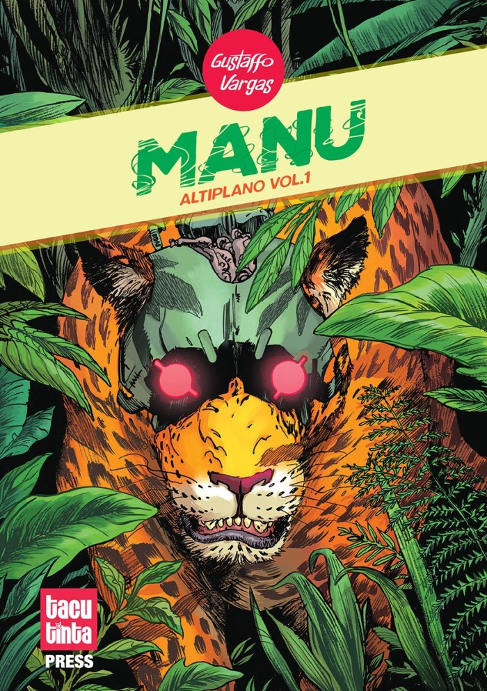Manu by Gustaffo Vargas - Cover