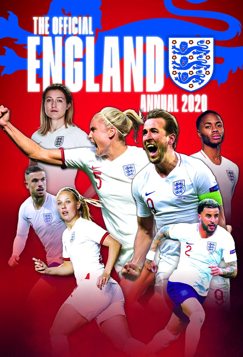 Official England Soccer Annual 2020