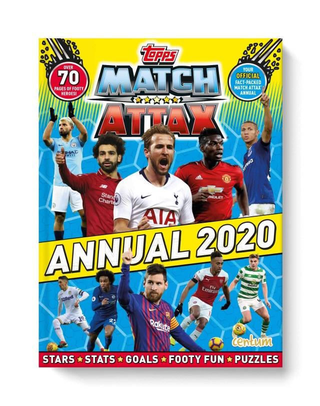 Match Attax Annual 2020
