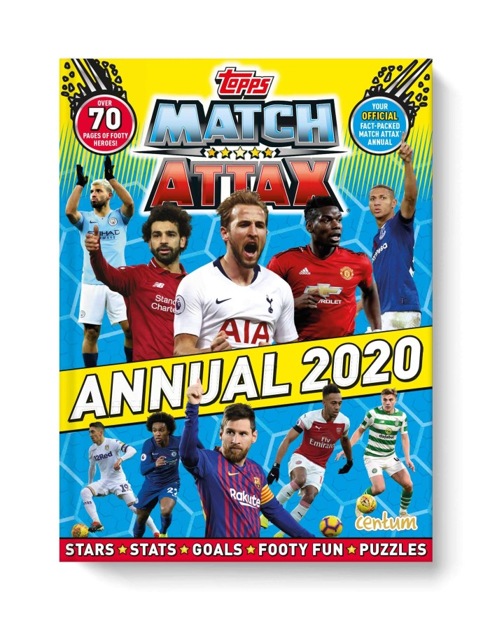 Match Attax Annual 2020