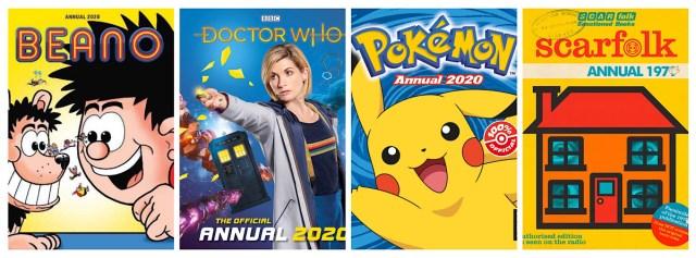 British Annuals 2020 Montage