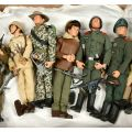 Unboxed Action Man figures, which sold for £320 at Vectis in September, well above the estimate