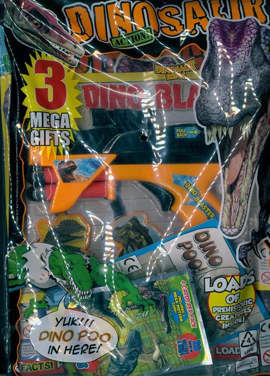 Dinosaur Action Magazine Issue 139