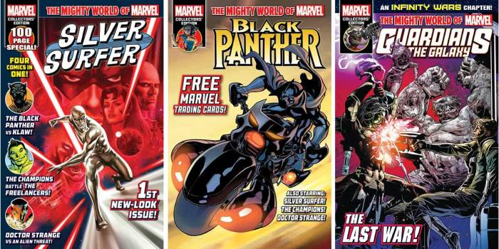 Panini Comics UK Mighty World of Marvel Montage
