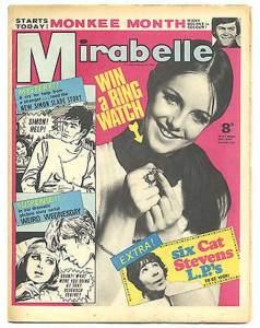 Mirabelle - cover dated 18th March 1967