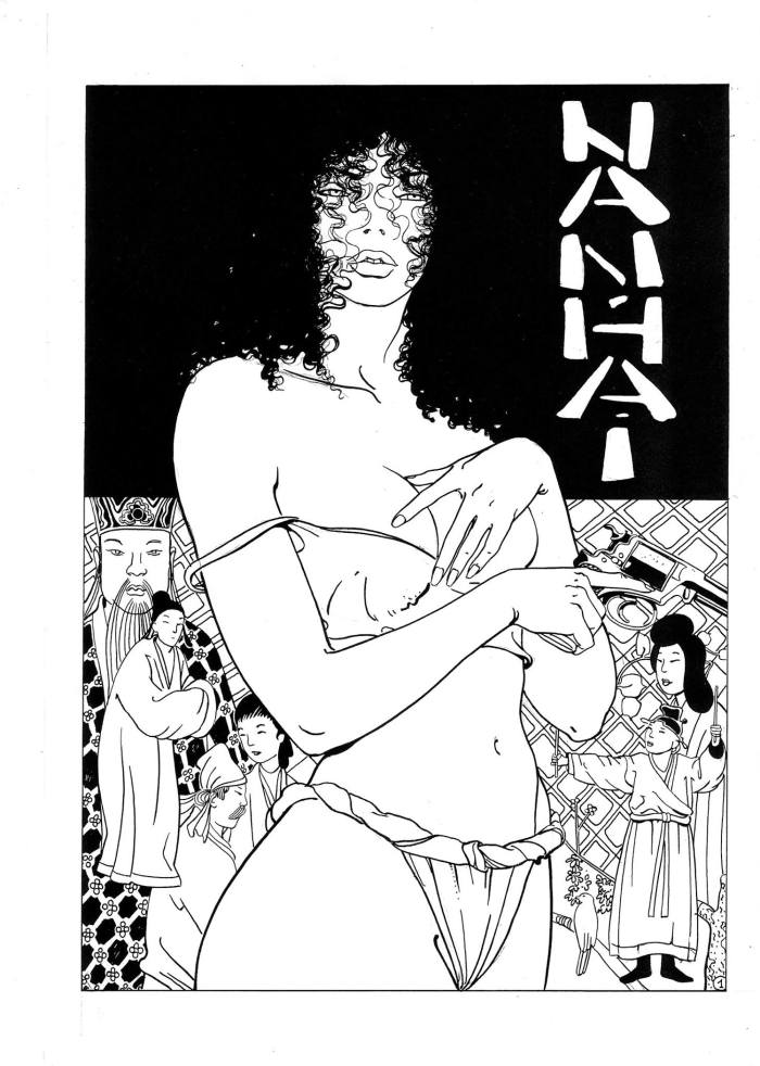 "Art for the strip ""Nan Hai"", written by Robin Wood, art by Luis García Durán"