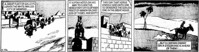 Garth - The Phantom Pharaoh - K156