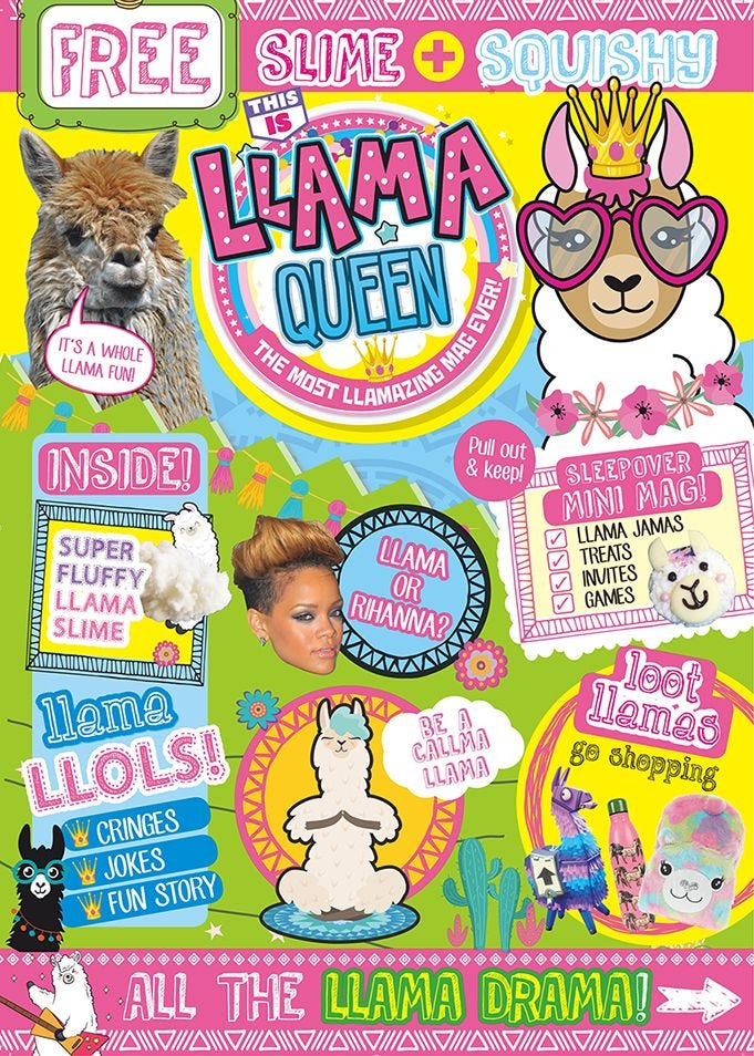 This Is LLAMA QUEEN